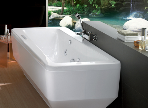 Bồn tắm Imagine có yếm đi kèm 70172100-WT