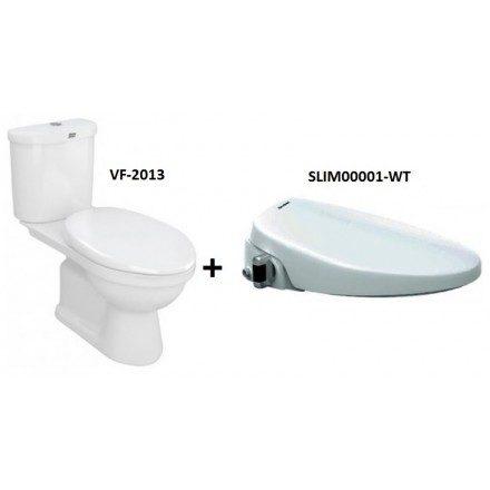Bộ cầu Star với nắp rửa Slim 3 VF-2013S3