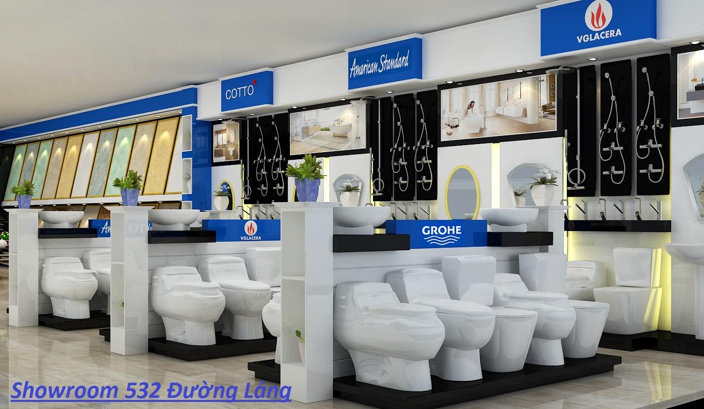 Showroom Hải Linh - địa chỉ mua Bồn cầu American Standard VF-2011 chính hãng